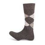 15110 calcetín intarsia corto cashemere 422
