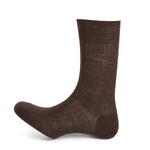 10115 calcetín corto canalé lana