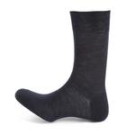10110 calcetin corto liso lana